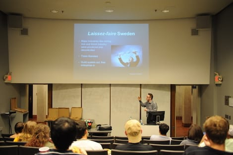 Carl Svanberg at Emory University