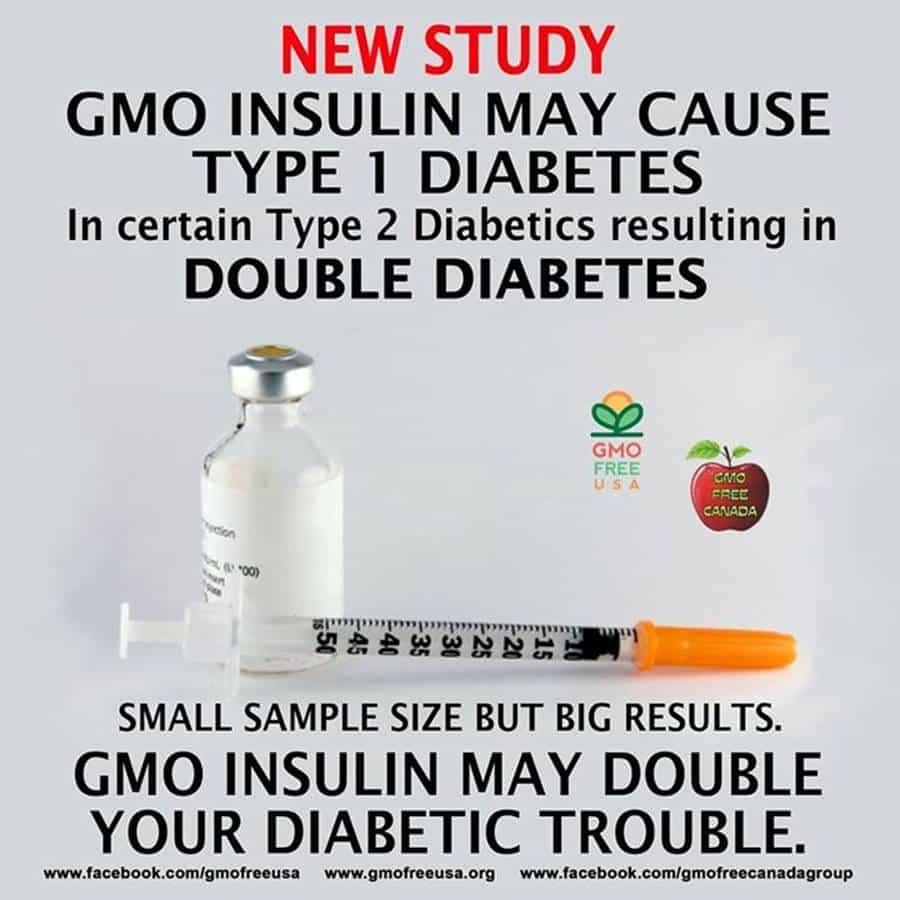 GMO Free USA insulin meme